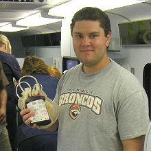 August, 2006 - Bonfils Blood Drive