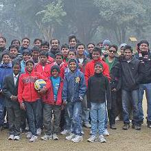January, 2013 - Ehsaas Orphanage - Kukrail Park